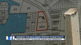 Neighbors concerned about proposed storage facility in Palm Harbor