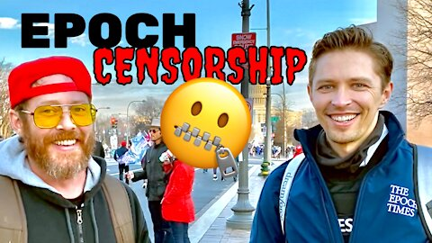 """""""It's Very Vicious"""" THE EPOCH TIMES GUY On How They're Being Censored By Big Tech!"""