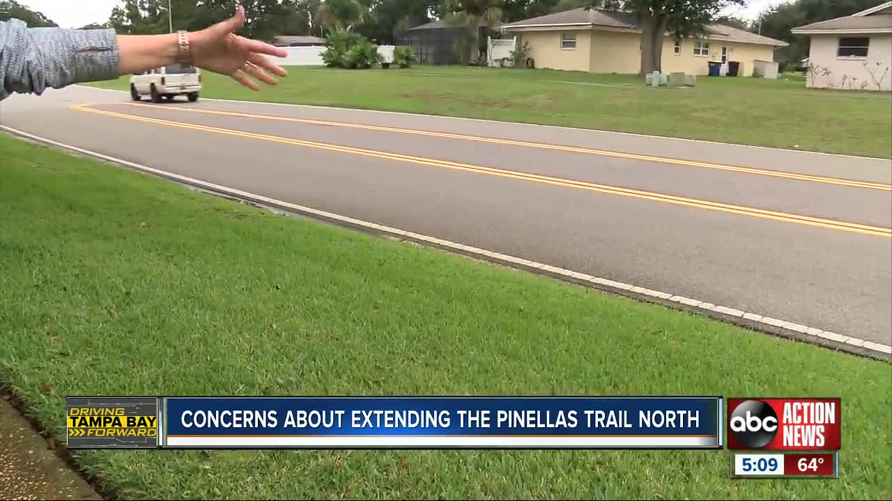 Concerns about extending Pinellas Trail