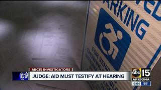 Advocates for Individuals with Disabilities to testify under oath - Video