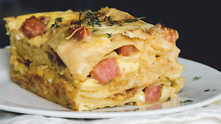 Breakfast lasagna recipe - Video