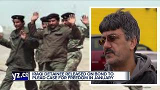 Iraqi was detained, out on bond, still fighting to stay in the U. S. - Video