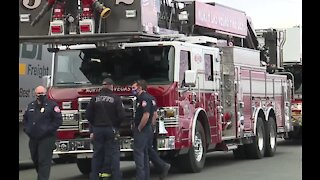 Family thanks firefighters for saving child