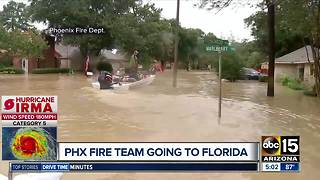 Arizona task force on the road to provide help after Irma - Video
