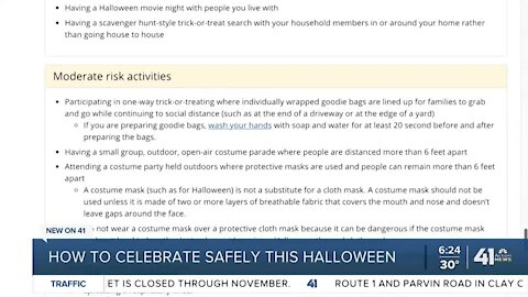 How to celebrate safely this Halloween