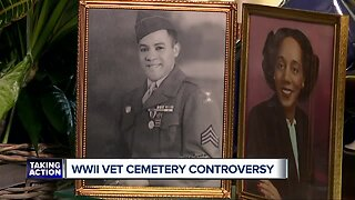 World War II veteran cemetery controversy