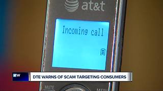 DTE warns of scam targeting companies - Video