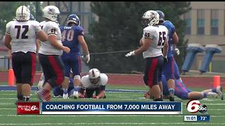 Whiteland football coach teaches life lessons from 7,000 miles away - Video