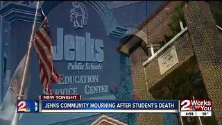 Jenks community grieving after loss of student - Video