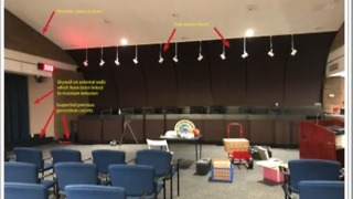 City council chambers closed due to mold - Video