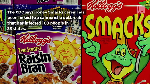 CDC Says Popular Kellogg's Cereal Linked to Salmonella Outbreak