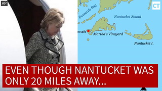 Hillary's Plane Lands... But There's One HUGE Problem - Video