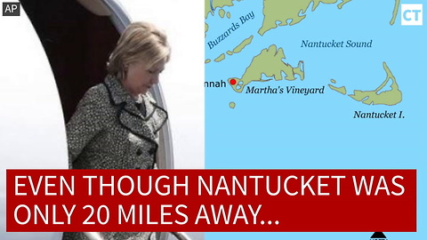 Hillary's Plane Lands... But There's One HUGE Problem