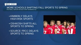 Fox River Classic Conference delays fall sports to the spring
