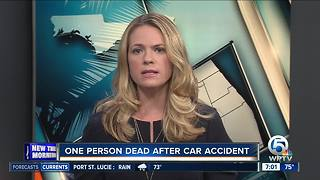 Deadly car accident in Port St. Lucie - Video