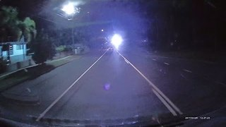 Driver's Journey Brightened Up by Surprise Lights Show - Video