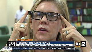 Seeing a difference, new technology OrCam MyEye gives the blind freedom - Video