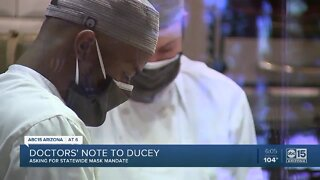 Doctors ask Ducey to mandate masks