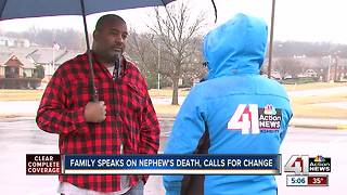 Family shares message after young man is killed