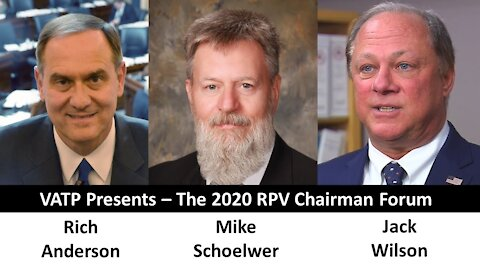 VATP 2020 RPV Chairman Forum - Introducing the Candidates