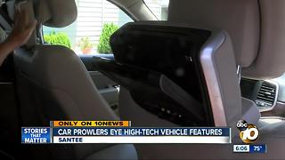 Santee car prowlers eye vehicles' high-tech features - Video