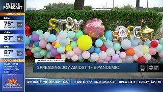 Local balloon artist spreads joy amid pandemic