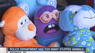 Police department has too many stuffed animals - Video