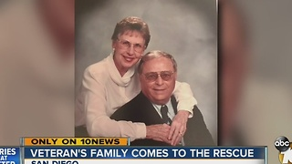 Family of WWII veteran replaces stolen money, sends military family on cruise - Video