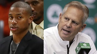 Isaiah Thomas Goes OFF on Danny Ainge - Video