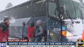 ABC15 heads up to Flagstaff for winter weather - Video