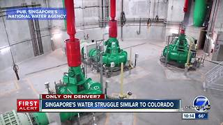 Singapore could help Colorado's water woes