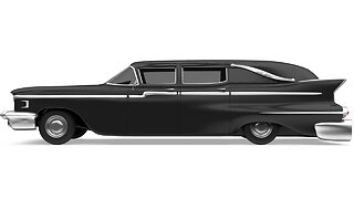 Thief Steals Hearse, Body Goes Along For Car Chase