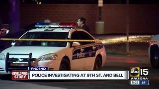 Police investigate accident at 9th Street and Bell - Video