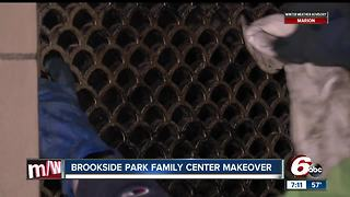 Volunteers give Brookside Park Family Center a makeover - Video