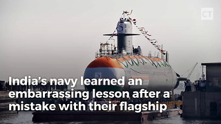 India's First Nuclear Sub Damaged By Water - Video