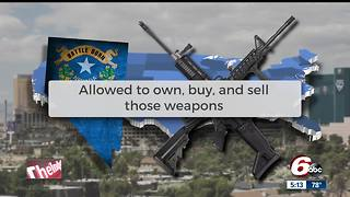 Nevada has some of the most relaxed gun laws in the country - Video