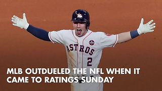 World Series Game 5 Beats Sunday Night Football In Ratings - Video