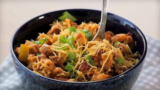 Slow Cooker Sloppy Joe Chili Mac - Video
