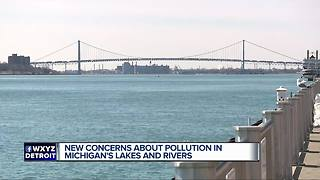 New report details industrial pollution in Michigan's lakes, rivers and streams - Video