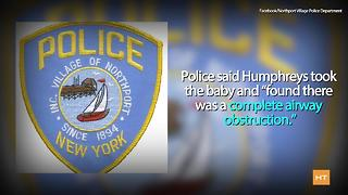 Using nothing but an eyedropper, this officer managed to save a baby's life - Video