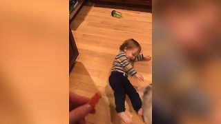 Cute Toddler Loves Sour Patch - Video