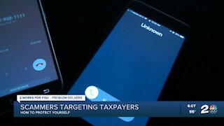 How scammers are targeting tax payers