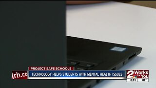 Technology helps students with mental health issues