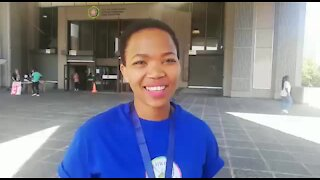 SOUTH AFRICA - Cape Town - World Peace Walk. (VIDEO) (BhF)