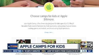Apple offering FREE summer camp for kids! - Video