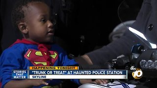Trunk or Treat at Haunted Police Station