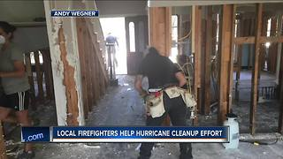 Local firefighters return from helping Houston victims - Video