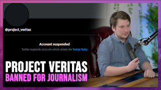 Project Veritas Suspended from Twitter