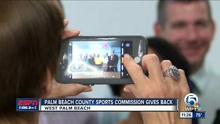 Inaugural Palm Beach Sports Gives - Video