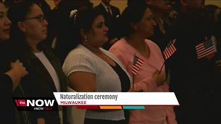 129 applicants become U.S. citizens at MATC - Video